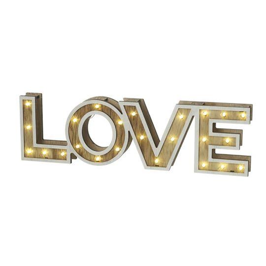 Light Up LED Love Sign