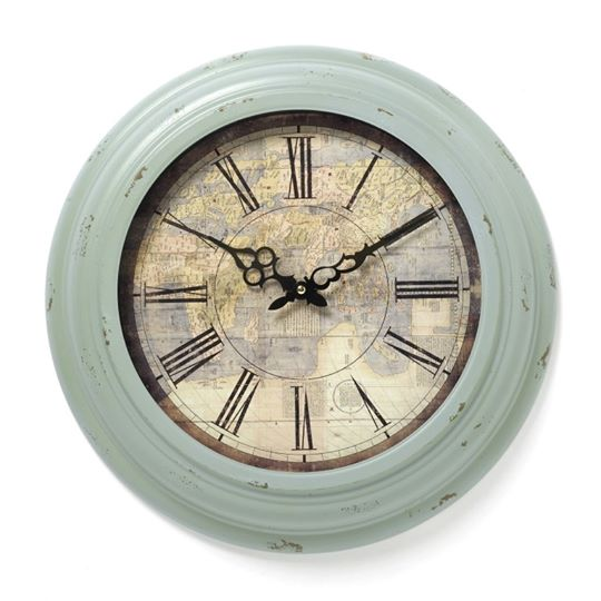 Distressed Effect Clock