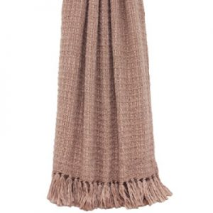 Tassel Throw Blush