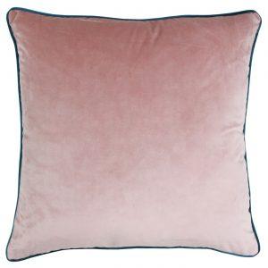 Meridian Cushion Blush/Teal