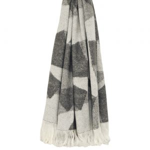 Geometric Throw Grey