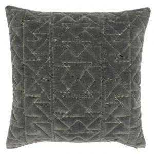 Aztec Cushion Grey