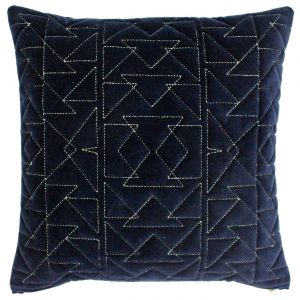 Aztec Cushion Navy