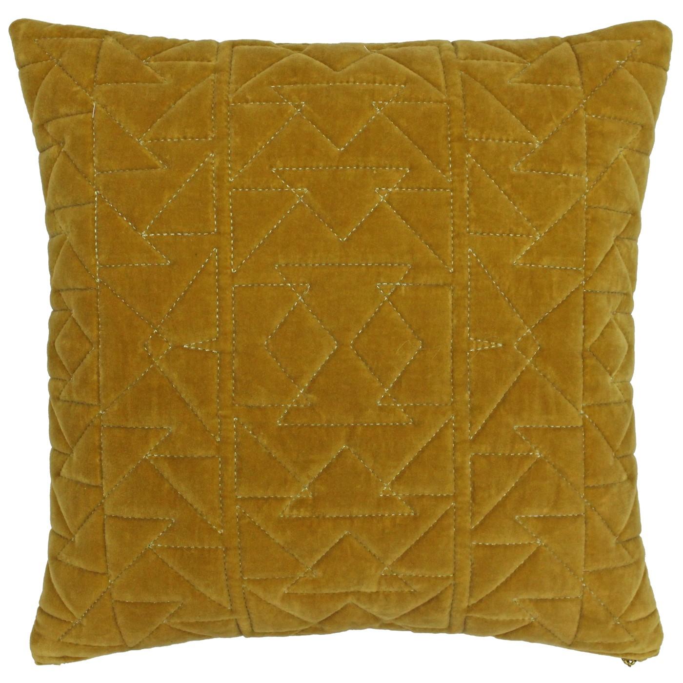 Aztec Cushion Ochre