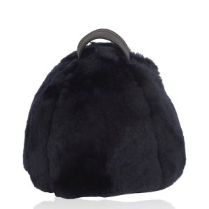 Owen Barry Sheepskin Doorstop Navy