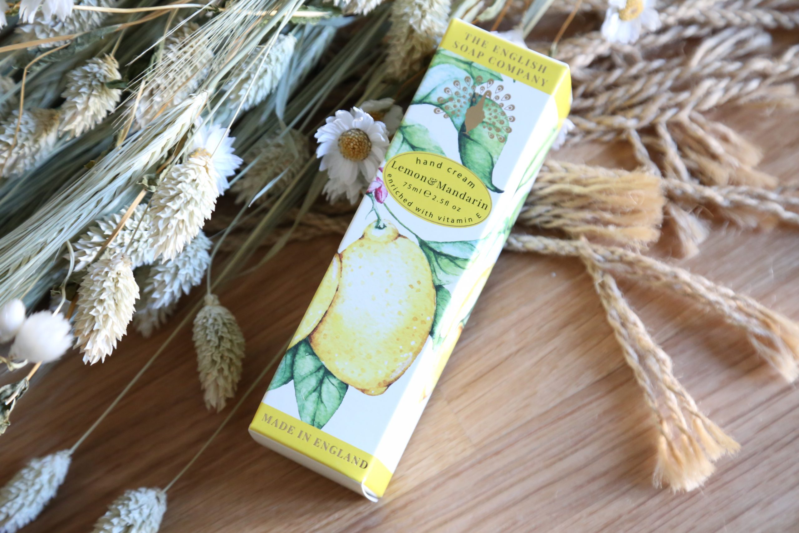 Lemon & Mandarin Hand Cream