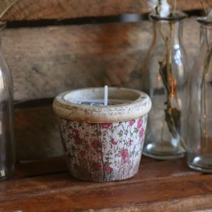Vintage Rose Scented Candle
