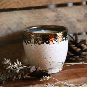 Bay & Rosemary Scented Candle