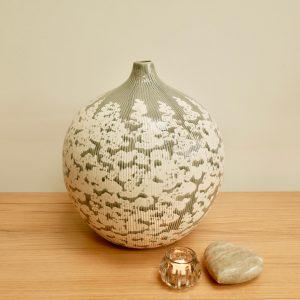 Grey Balloon Vase